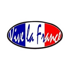 French Flag Vive La France Patches