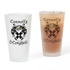 Connolly in Irish/English Drinking Glass