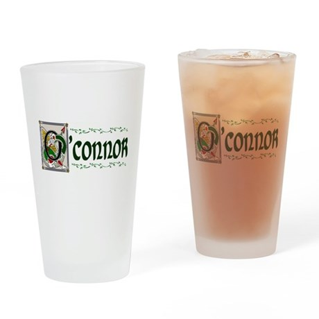 O'Connor Celtic Dragon Pint Glass