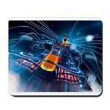 Funny Race car Mousepad