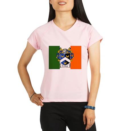 Craig Arms Irish Flag Performance Dry T-Shirt