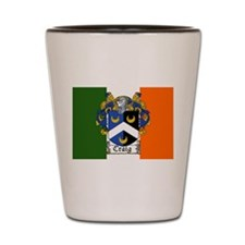 Craig Arms Irish Flag Shot Glass