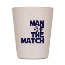 Man of the Match (Soccer) Shot Glass