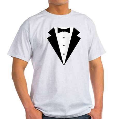 Minimalist Funny Tuxedo Light T-Shirt