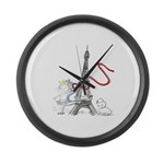 Princess Smartypants Large Wall Clock