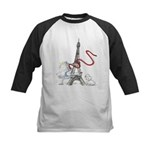 Princess Smartypants Kids Baseball Jersey