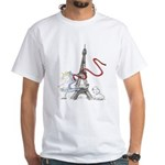 Princess Smartypants White T-Shirt
