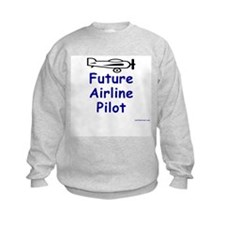 Future Airline Pilot II Sweatshirt