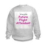 Future Flight Attendant Sweatshirt