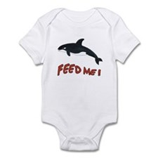 Whale - Feed Me! Infant Bodysuit