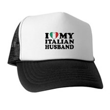 I Love My Italian Husband Trucker Hat