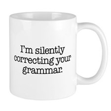 Corrected Grammar Coffee Mug
