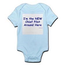 New Chief Pilot (Boy) Infant Creeper