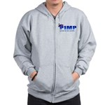 pimp poop in my pants Zip Hoodie