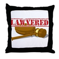 HIMYM: Lawyered Throw Pillow