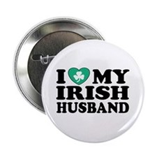"I Love My Irish Husband 2.25"" Button"
