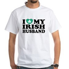 I Love My Irish Husband Shirt