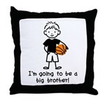 Big Brother to be Throw Pillow