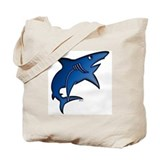 Blue Mako Shark Tote Bag