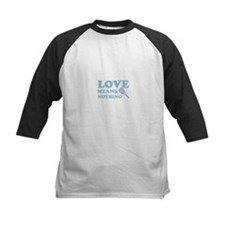 love means nothing (blue) Tee