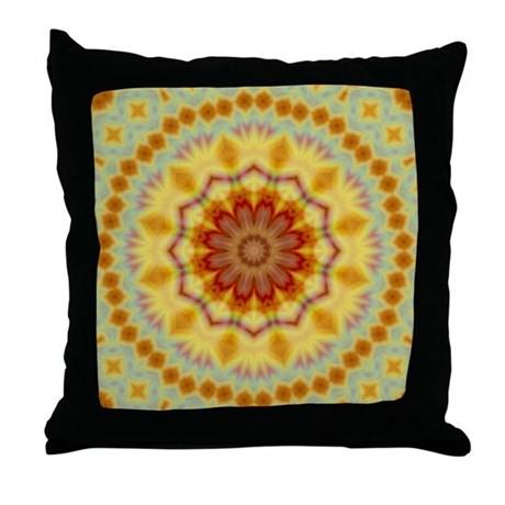 Emperor's Kaleidoscope IV Throw Pillow