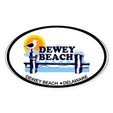 Dewey Beach DE - Pier Design Decal