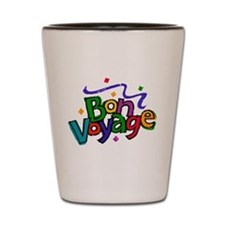 Bon Voyage Shot Glass