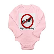 No Pain! Long Sleeve Infant Bodysuit