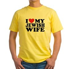 I Love My Jewish Wife T