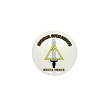 SOF - Delta Force Mini Button (100 pack)