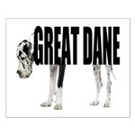 Great Dane Small Poster