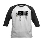 Great Dane Kids Baseball Jersey