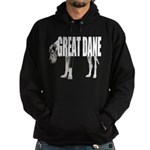Great Dane Hoodie (dark)