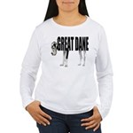 Great Dane Women's Long Sleeve T-Shirt