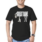 Great Dane Men's Fitted T-Shirt (dark)