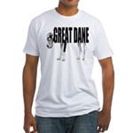Great Dane Fitted T-Shirt
