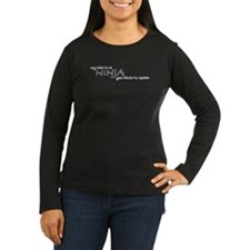 Women's Long Sleeve Ninja Shirt