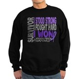 Survivor 4 Hodgkin's Lymphoma Sweatshirt