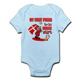 First Proud To Be Danish Infant Bodysuit