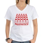 Mayomania Women's V-Neck T-Shirt