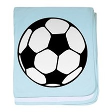 Soccer Football Icon baby blanket