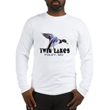 Funny Mallard duck Long Sleeve T-Shirt