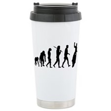 Motorbike Evolution Ceramic Travel Mug