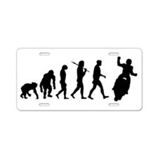 Motorbike Evolution Aluminum License Plate