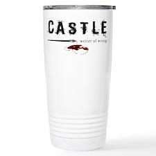 Castle writer of wrongs art p Stainless Steel Trav
