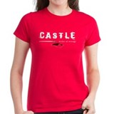 Castle writer of wrongs art p Tee