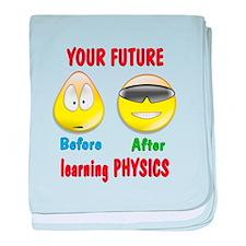 Physics Future baby blanket