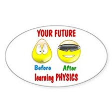 Physics Future Decal