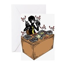 Cute Phone cartoon Greeting Cards (Pk of 10)