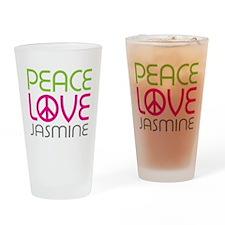 Peace Love Jasmine Pint Glass